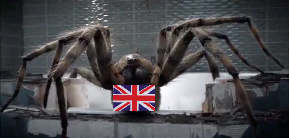 Doctor Who – Arachnids in the UK